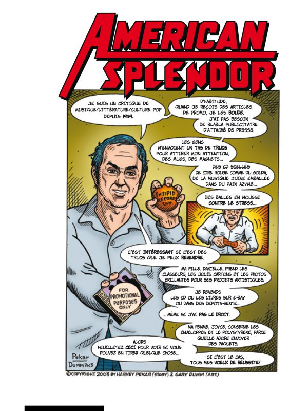 Affiche American Splendor | Diaphana Distribution