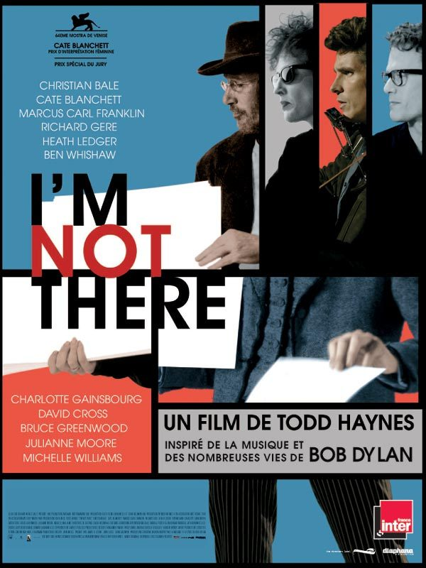 Affiche I'm Not There | Diaphana Distribution