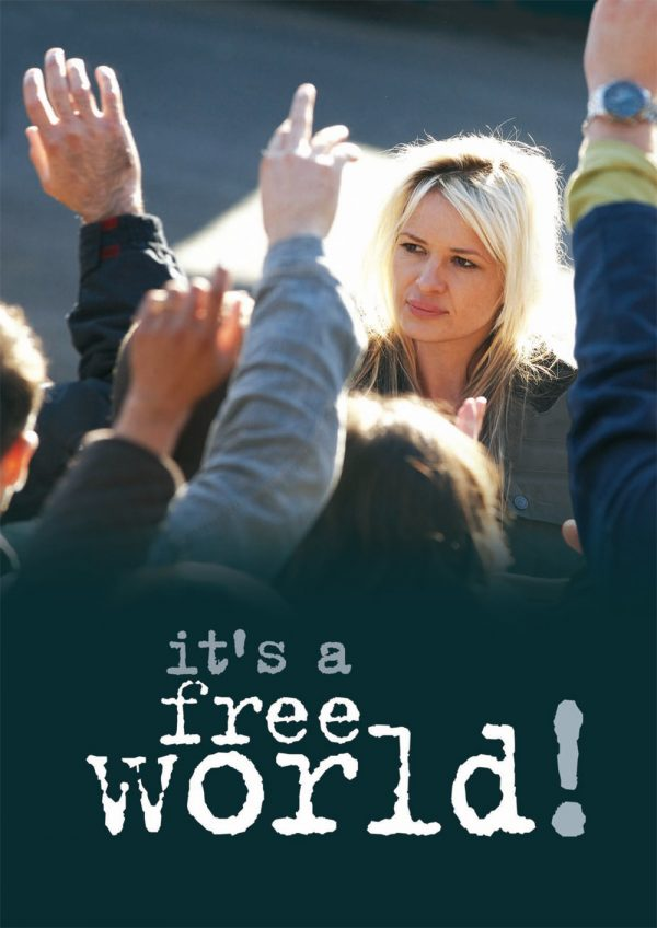 Affiche It's a Free World ! | Diaphana Distribution
