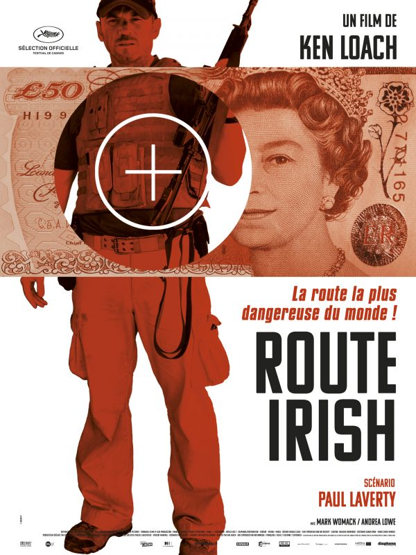 Affiche Route Irish | Diaphana Distribution