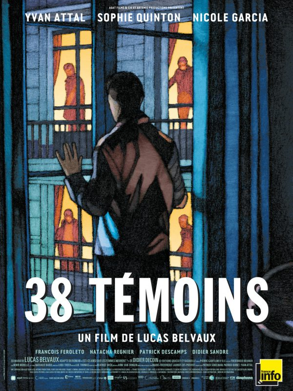Affiche 38 Temoins | Diaphana Distribution
