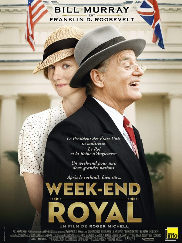 Affiche Week-end royal | Diaphana Distribution