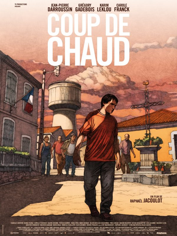 Affiche Coup de chaud | Diaphana Distribution