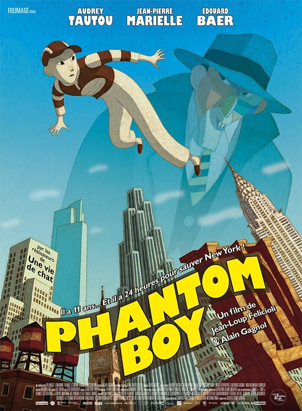 Affiche Phantom boy | Diaphana Distribution