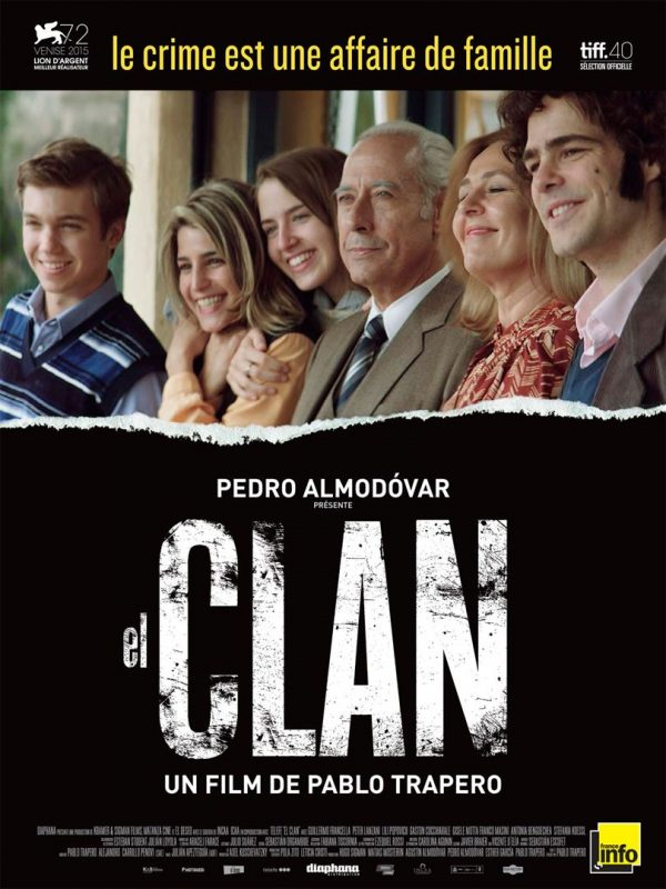 Affiche El Clan | Diaphana Distribution