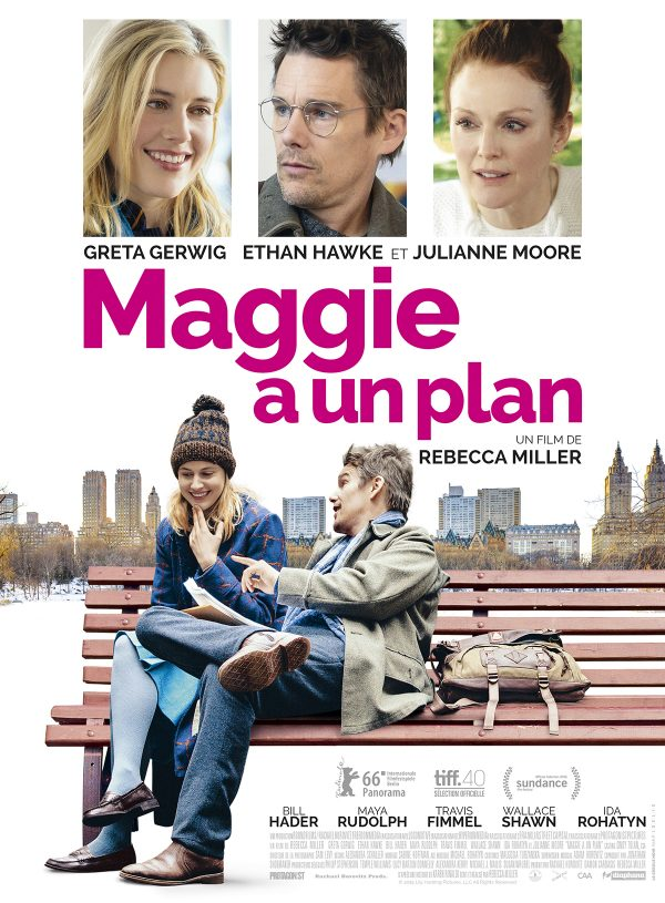 Affiche Maggie a un plan | Diaphana Distribution