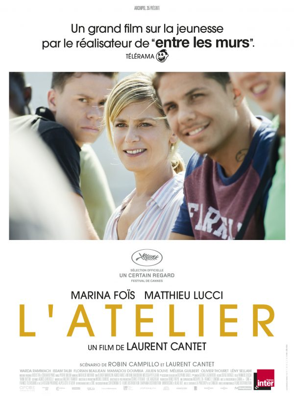 Affiche L'atelier | Diaphana Distribution