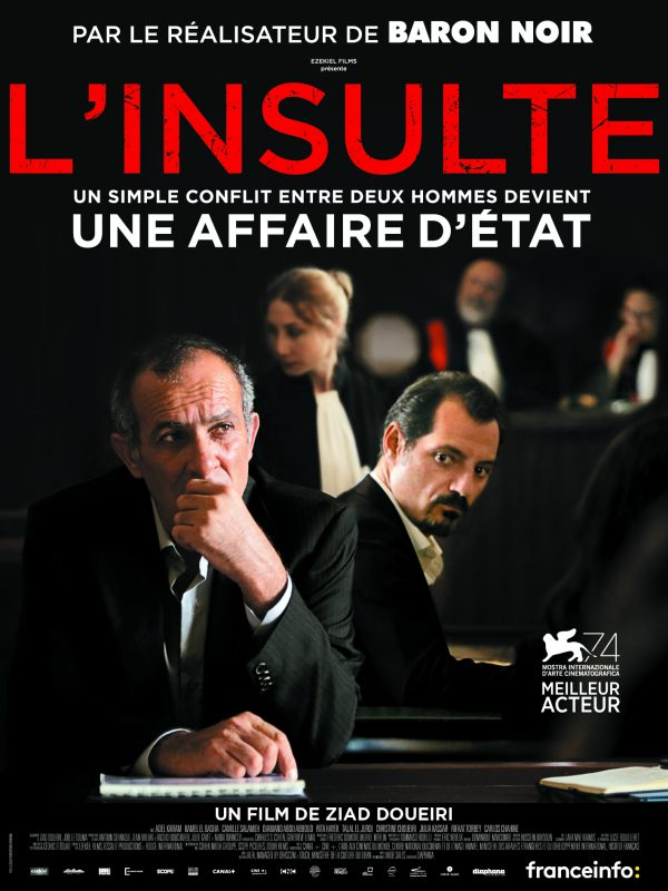 Affiche L'insulte | Diaphana Distribution