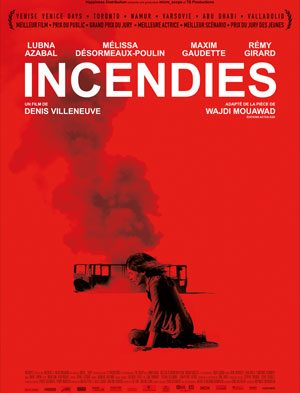Affiche Incendies | Diaphana Distribution